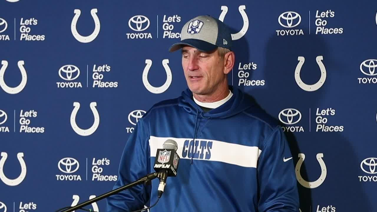Coach Frank Reich after Colts-Jets loss: 'We've just got to play better football'