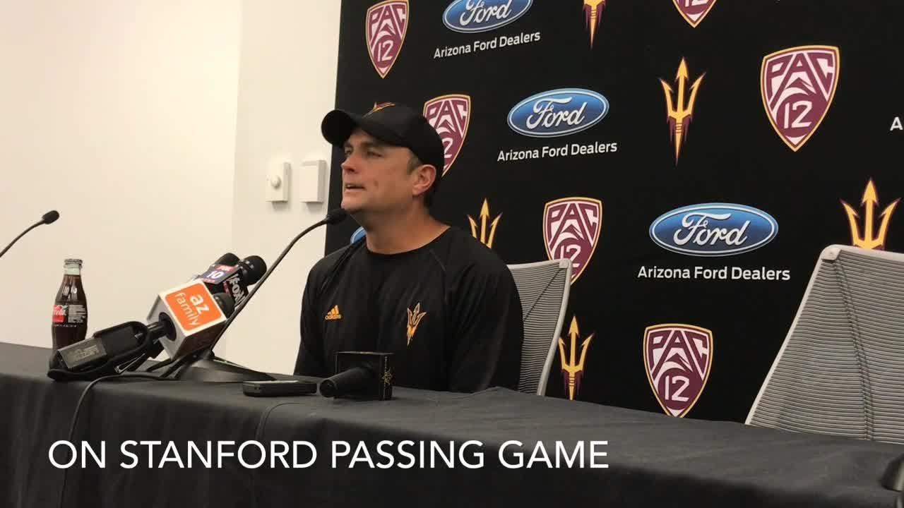 ASU defensive coordinator Danny Gonzales on preparing for Stanford and RB Bryce Love.