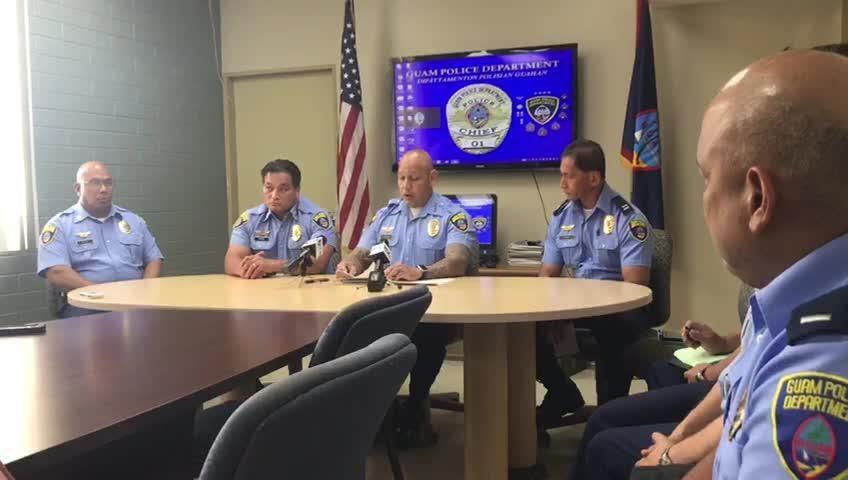 GPD Chief Joseph I. Cruz explains the intent behind a 106-question survey