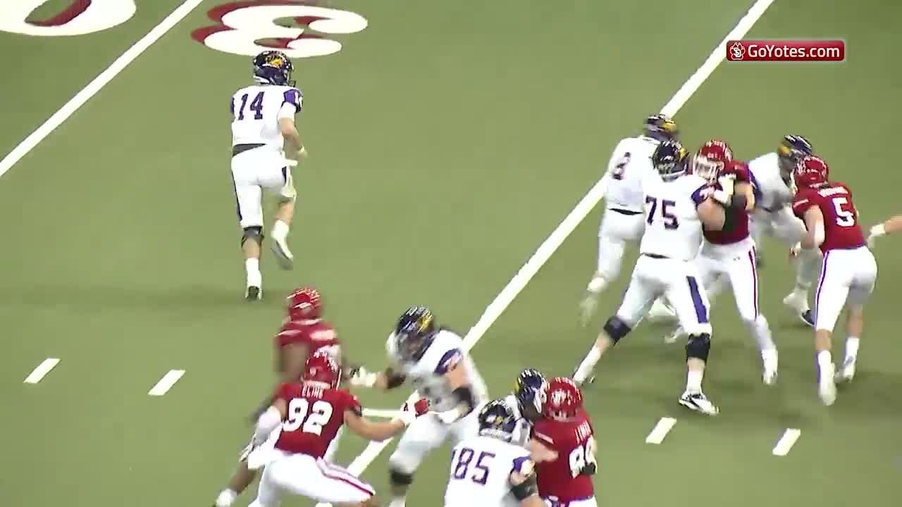 Highlights from the Coyotes loss to Northern Iowa on Oct. 15.