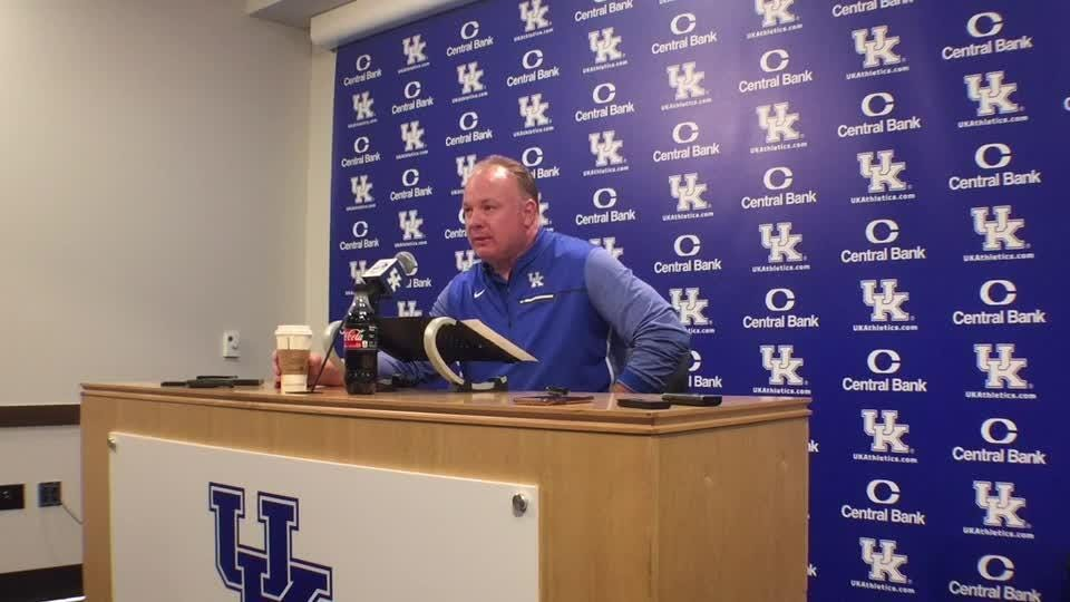 UK coach Mark Stoops wants his team to approach the second half as a series of one-week seasons.