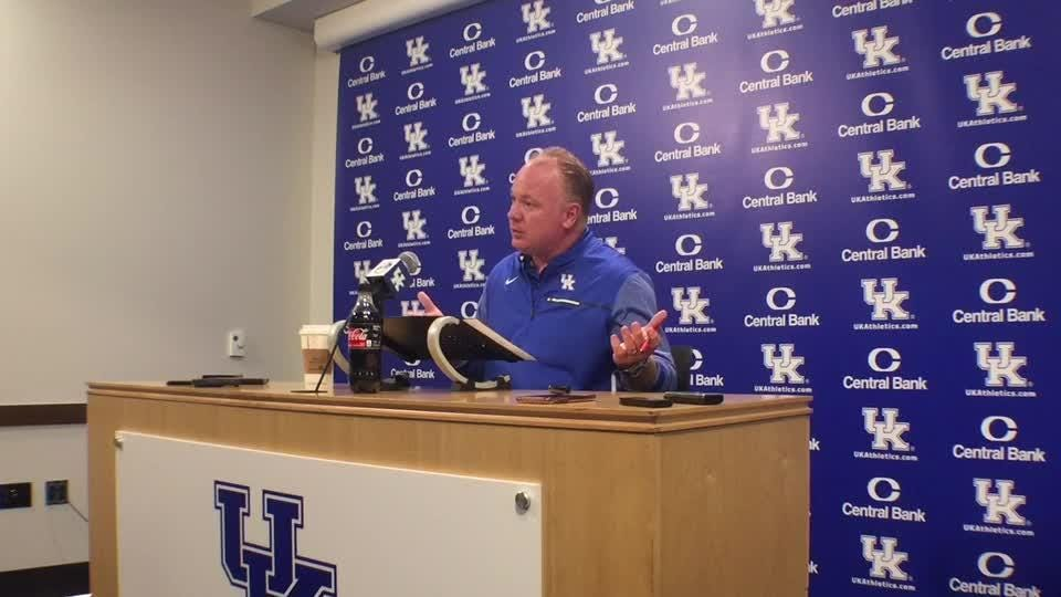 During Kentucky's bye week, Mark Stoops and his staff spent some extra time recruiting.