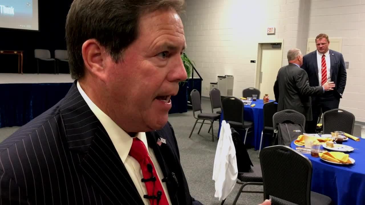 Sheriff Spangler discusses staffing and space needs at  jail