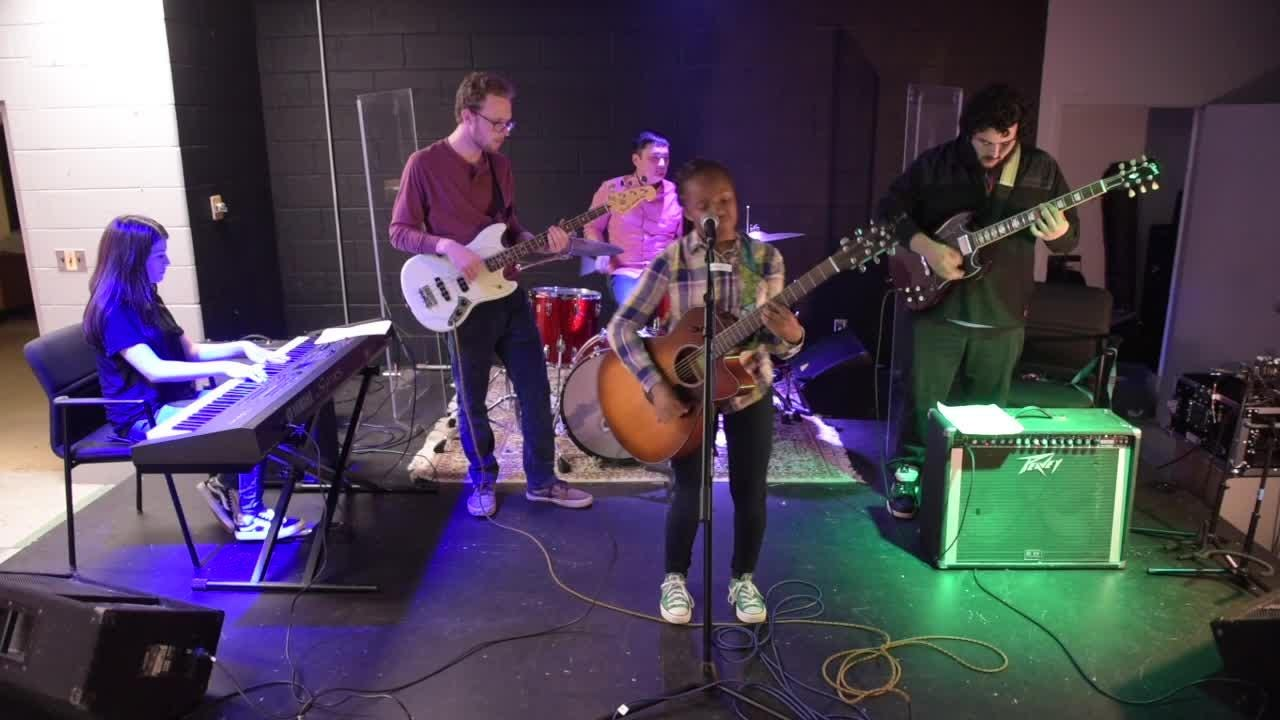 In The Band provides advice and training to young musicians in a safe and welcoming place.