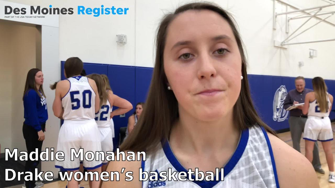 Maddie Monahan, a sophomore point guard for the Drake women's basketball team, is ready to take the next step this coming season.