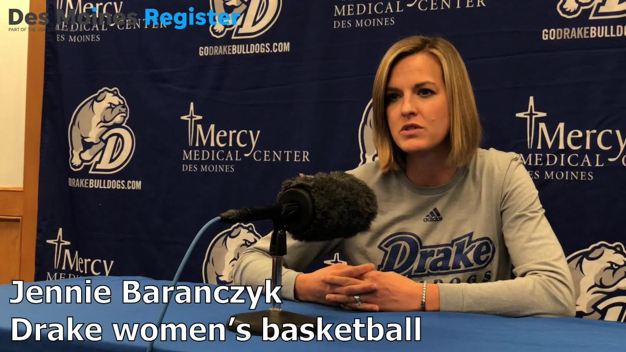 Drake coach Jennie Baranczyk talks about sophomore guard Maddie Monahan and her expectations for the 2018-19 season.