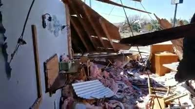 A video tour of the interior of the popular restaurant after Hurricane Michael