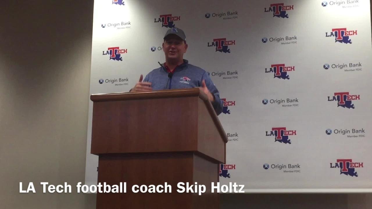 Louisiana Tech head football coach Skip Holtz details the biggest improvements UTEP has made since start of 2018 season.
