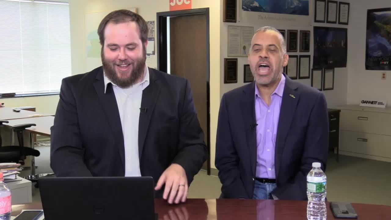 Larry Sharpe, the Libertarian candidate for New York governor, answered questions from Facebook users on Friday, Aug. 10, 2018.