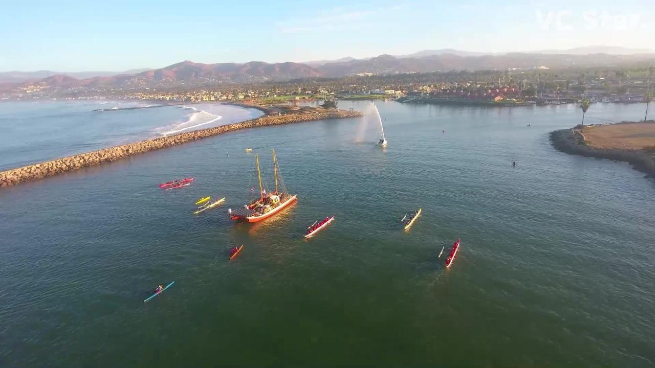 Hikianalia reaches Ventura after 2,800-mile voyage