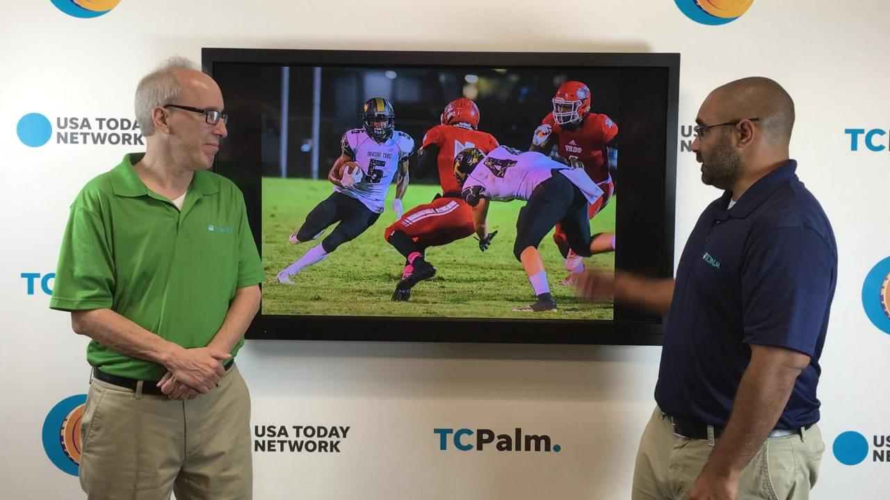 Sports reporters Jon Santucci and Dennis Jacob break down the Week 9 high school football matchups