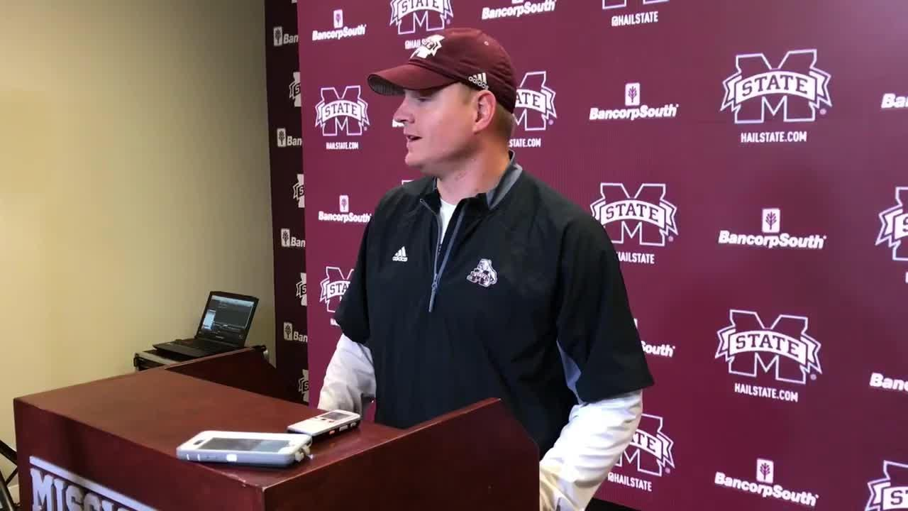 Mississippi State offensive coordinator Luke Getsy previews game against No. 5 LSU