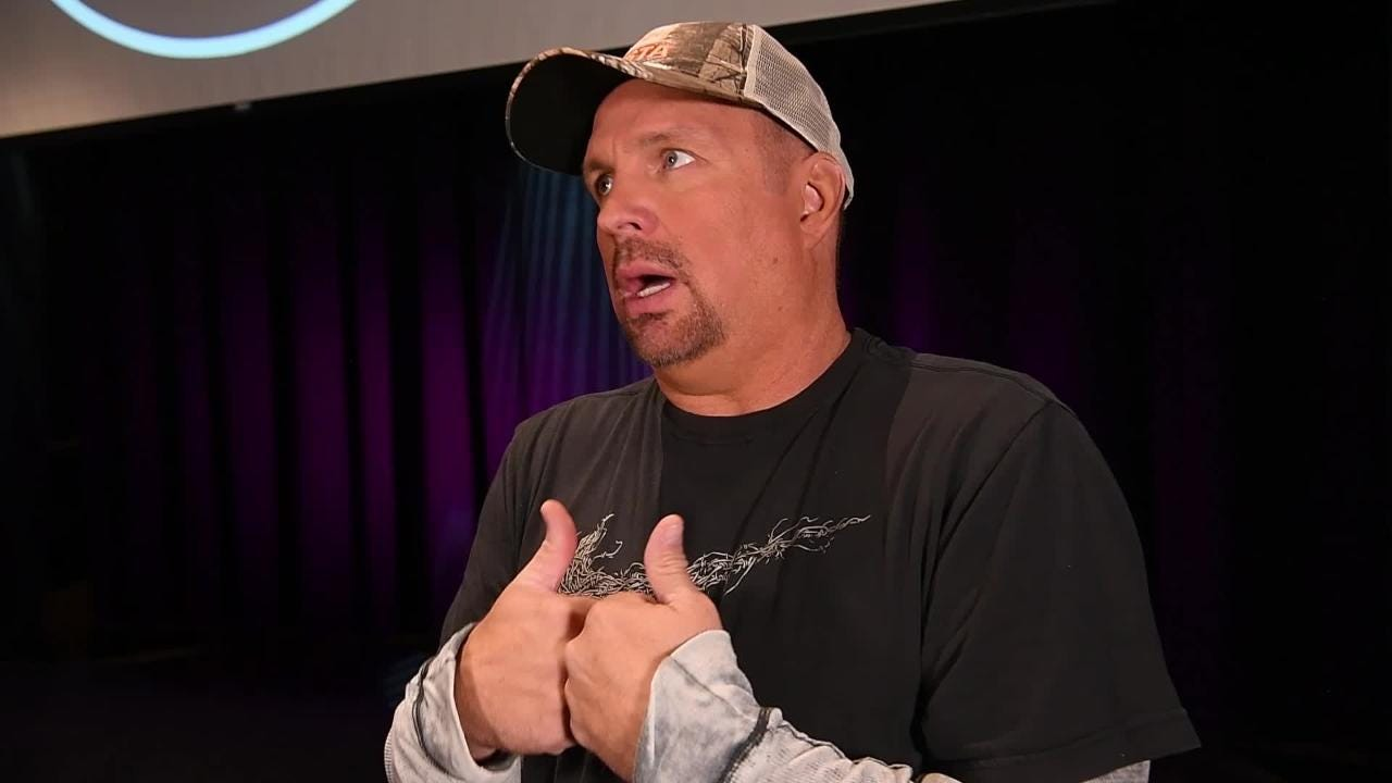 Garth Brooks talks about the importance of Ricky Skaggs to Country Music