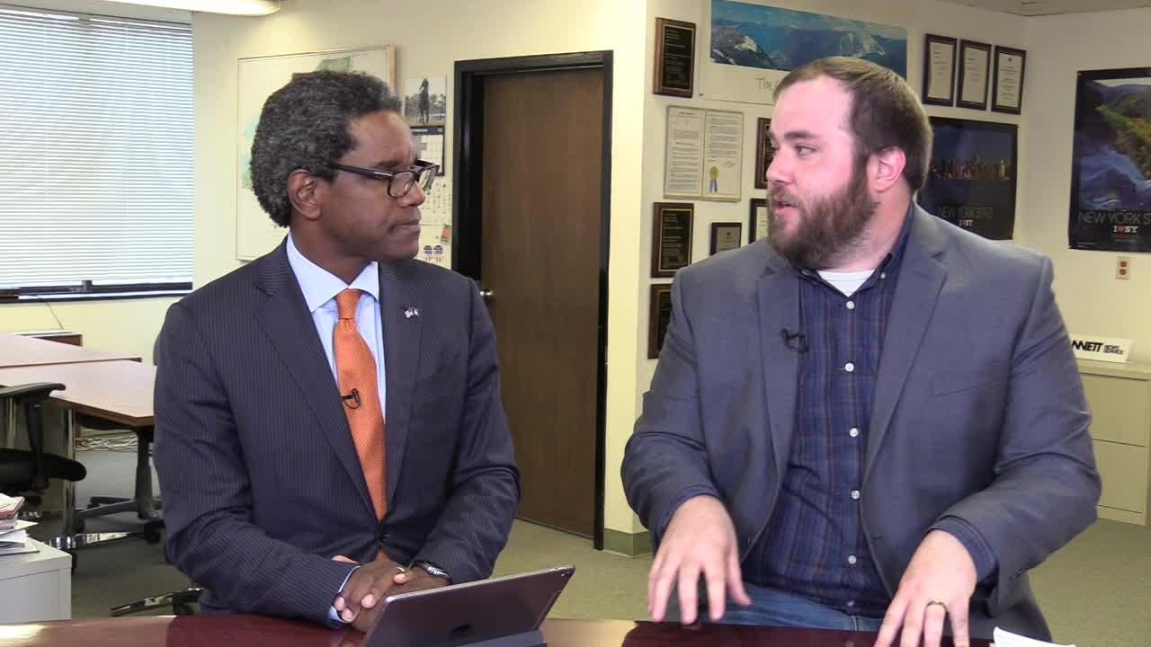 Keith Wofford, the Republican candidate for attorney general, sat down with the USA Today Network's Jon Campbell to discuss his candidacy on Oct. 17, 2018.
