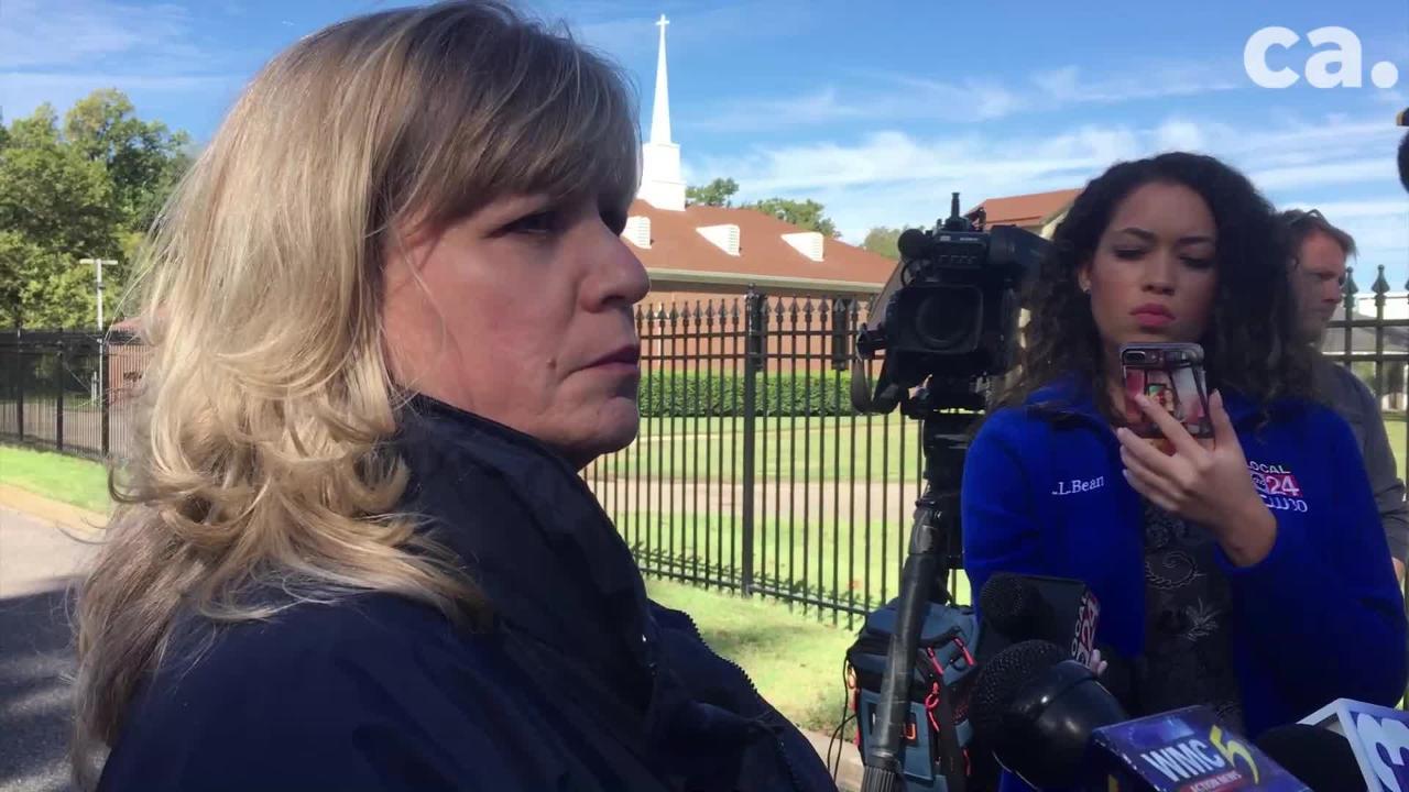 TBI spokeswoman Susan Niland speaks on the October 17, 2018 shooting of Keyshon Parham.