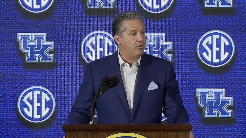 Calipari talked at length about the subject during a press availability at Southeastern Conference Media Day.