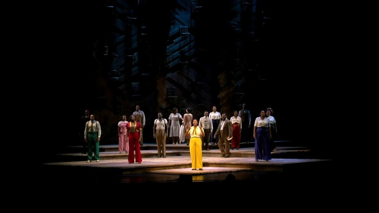 Paper Mill Playhouse and company of 'The Color Purple' support Spirit Day 2018 and LGBTQ youth. Editor's note: Contains explicit language