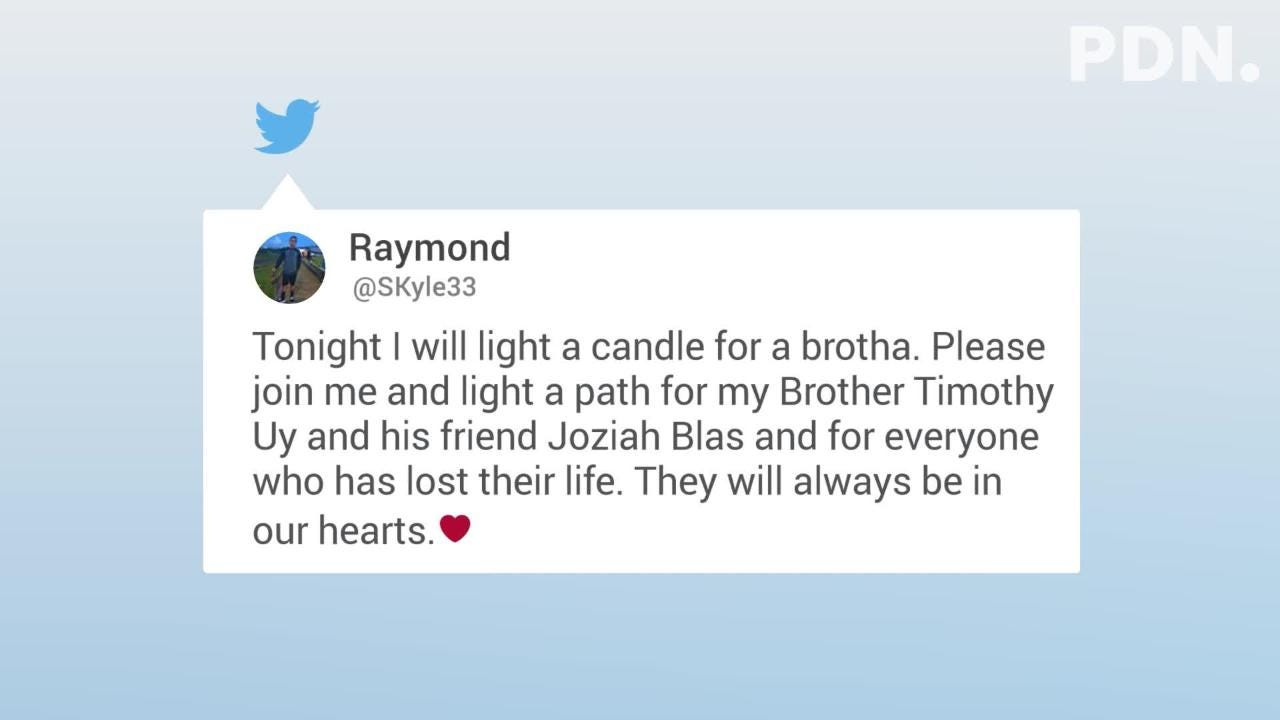 Friends and classmates took to Twitter to express their condolences and share memories of Simon Sanchez High School students Joziah Blas & Timothy Uy.