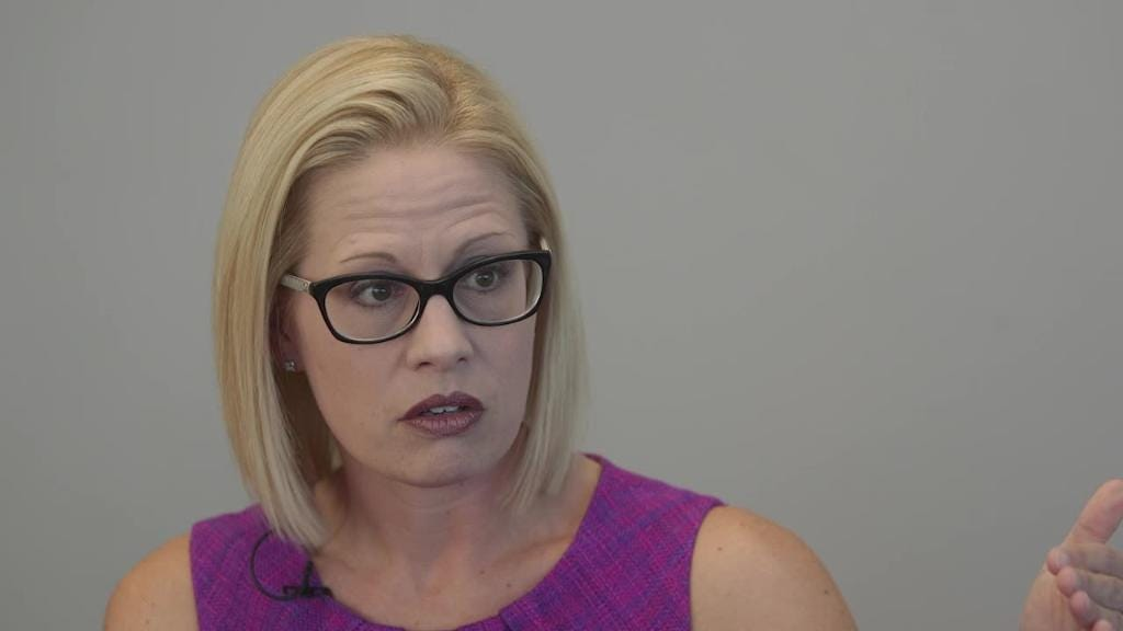 McSally, Sinema talk military action