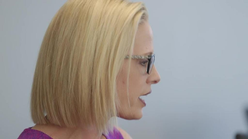 U.S. Senate candidates McSally, Sinema on attack ads, Taliban comment