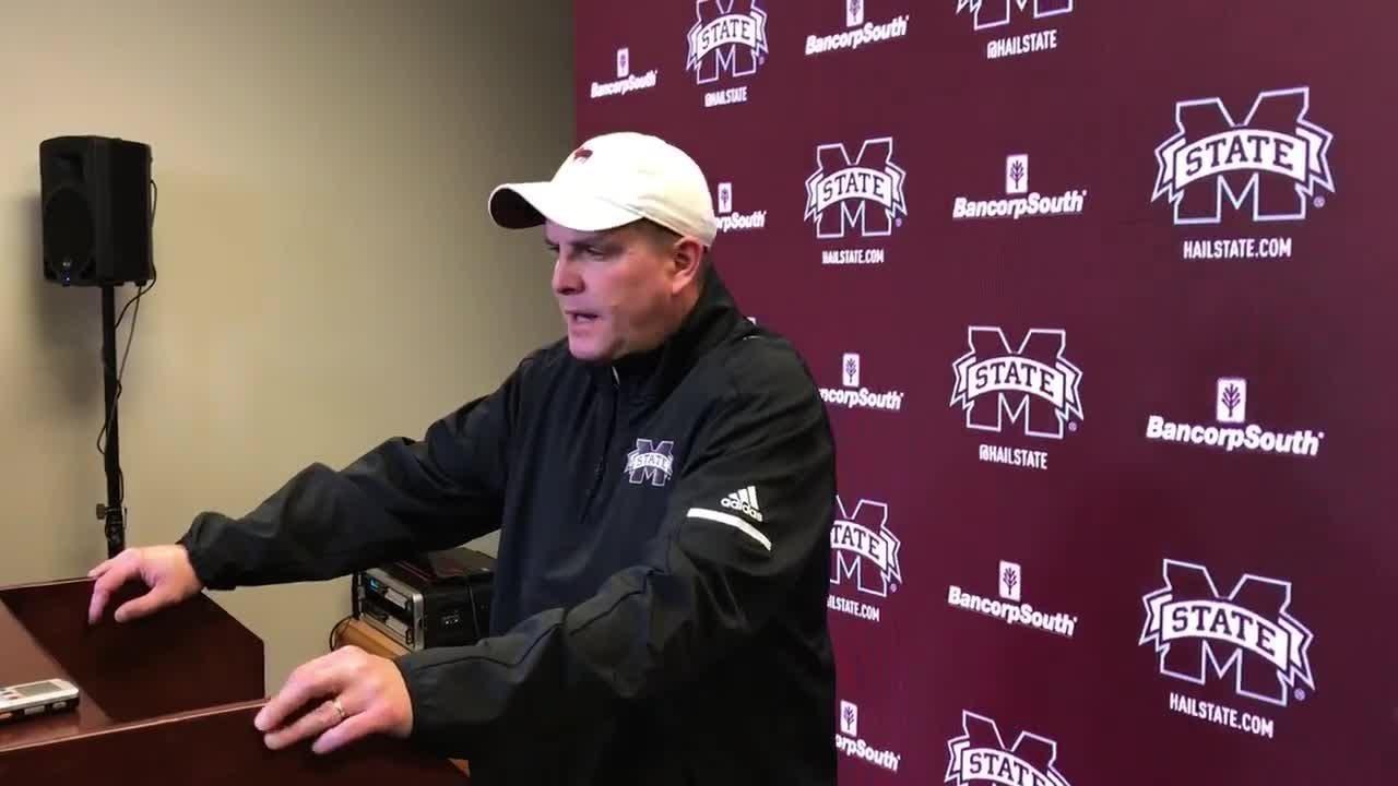 Mississippi State defensive coordinator Bob Shoop previews game against No. 5 LSU