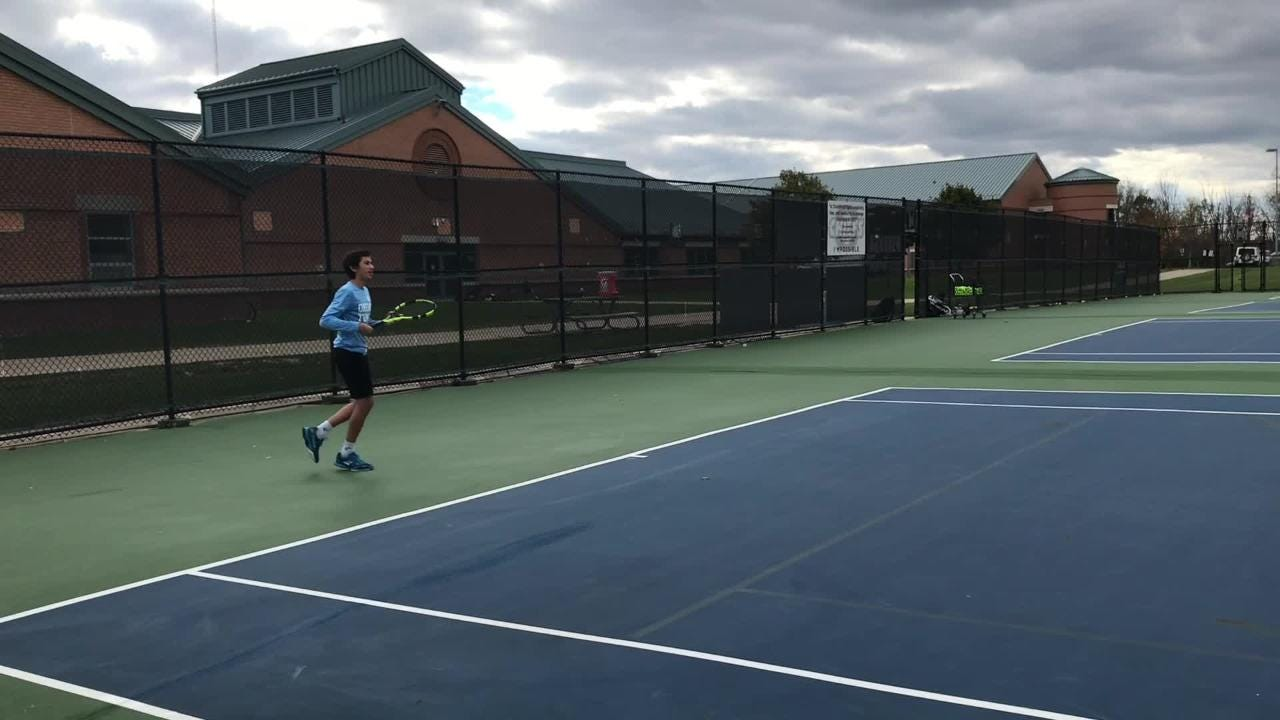 Ozan Colak discusses success and overcoming injuries this fall for Okemos.