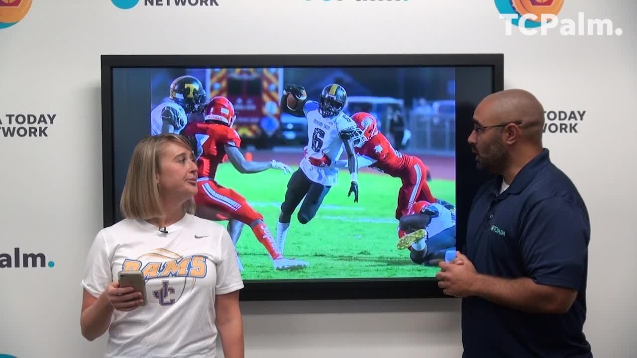 In 60 seconds, TCPalm sports reporter Jon Santucci tells you everything you need to know before the Week 9 high school football games Friday.