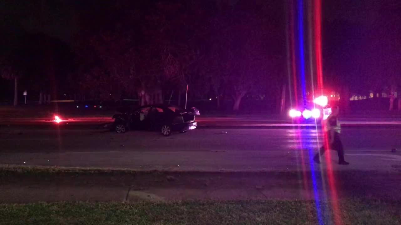 A Melbourne police officer was going nearly twice the speed limit heading into a Sept. 27 crash.