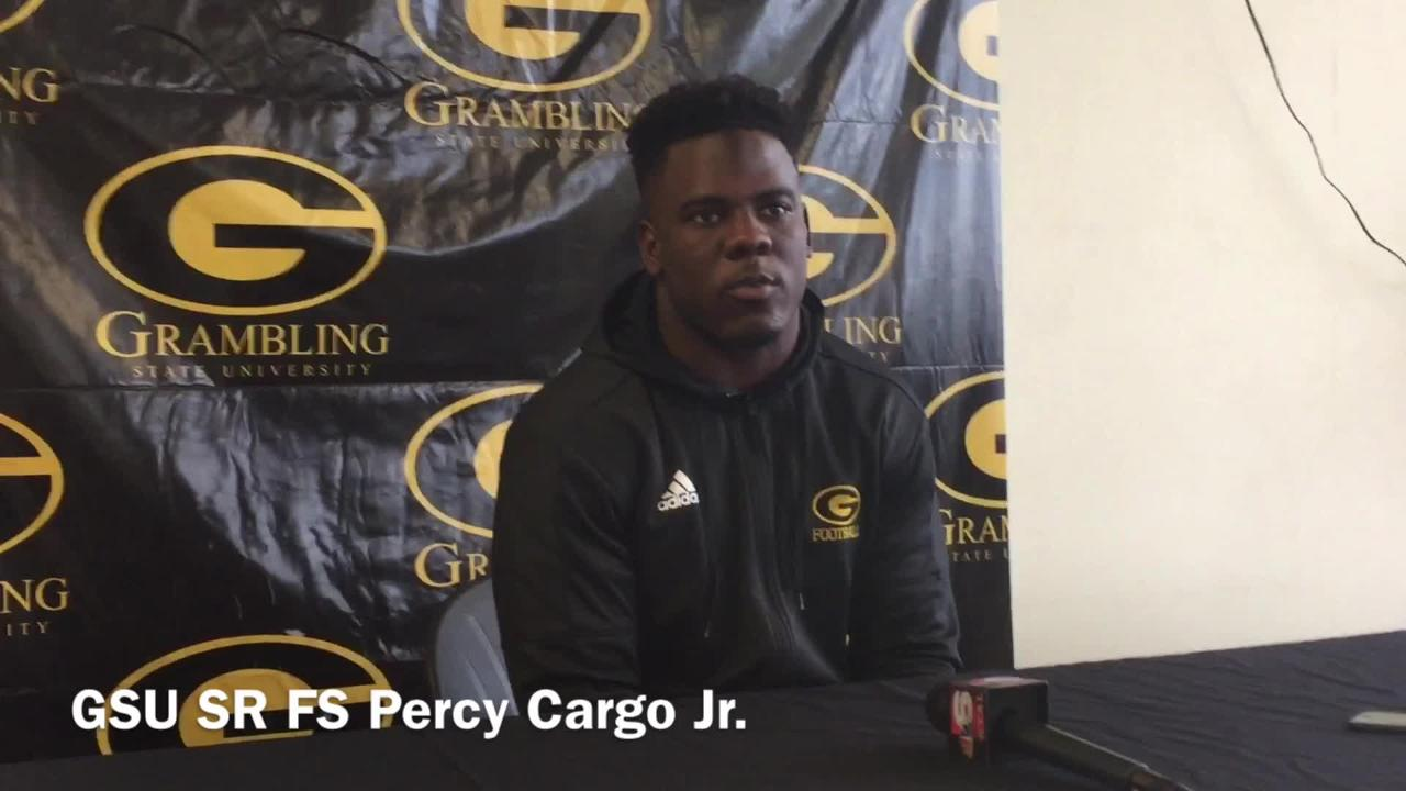 Grambling State senior free safety Percy Cargo Jr. reveals how the team breaks down film on opponents.