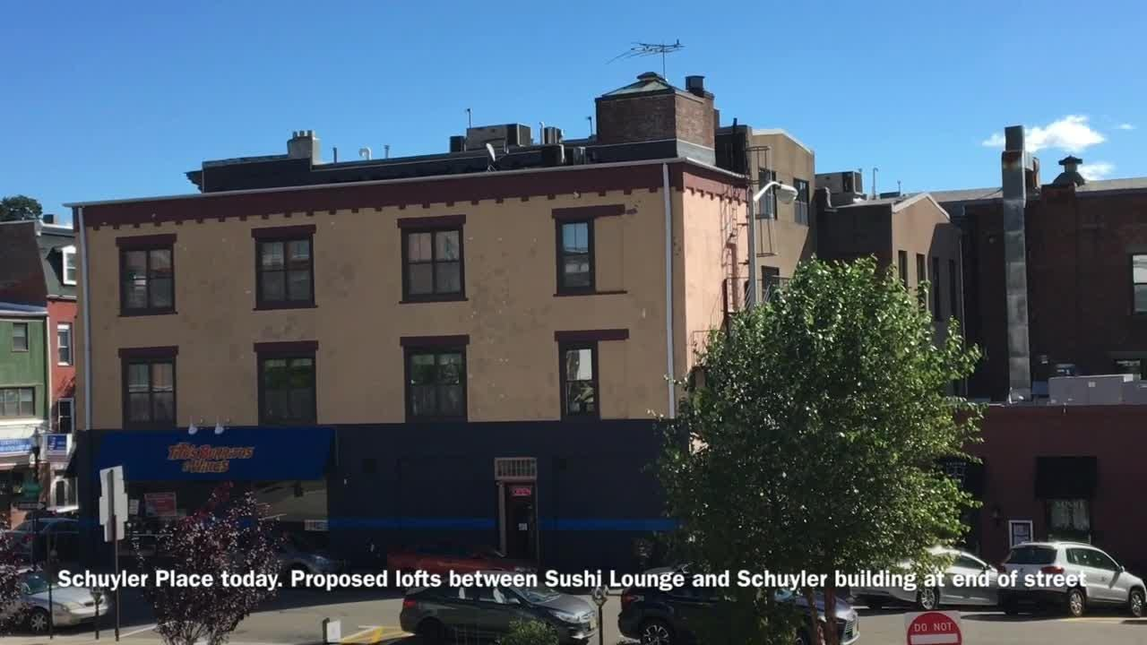 Loft-style apartments proposed for Schuyler Place, Morristown