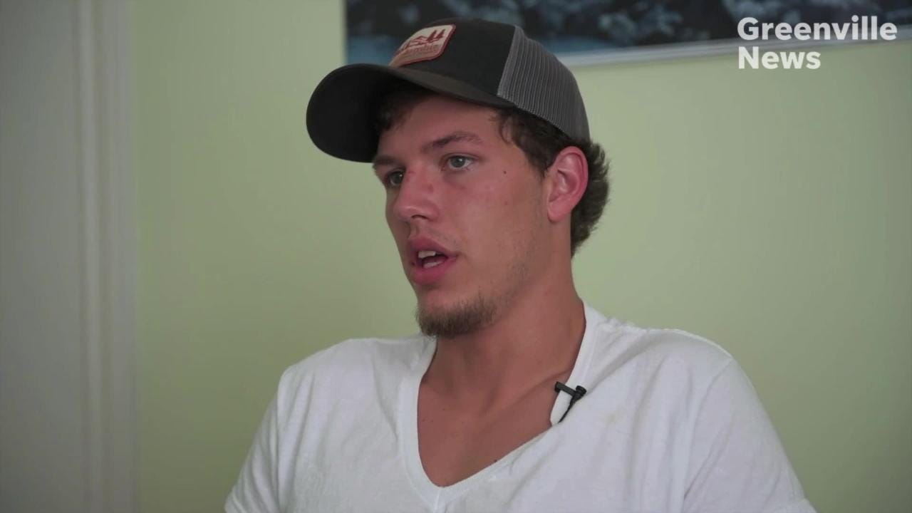 Taylor Smith, now 23, started using drugs at age 12. He's struggled since then to overcome addiction.