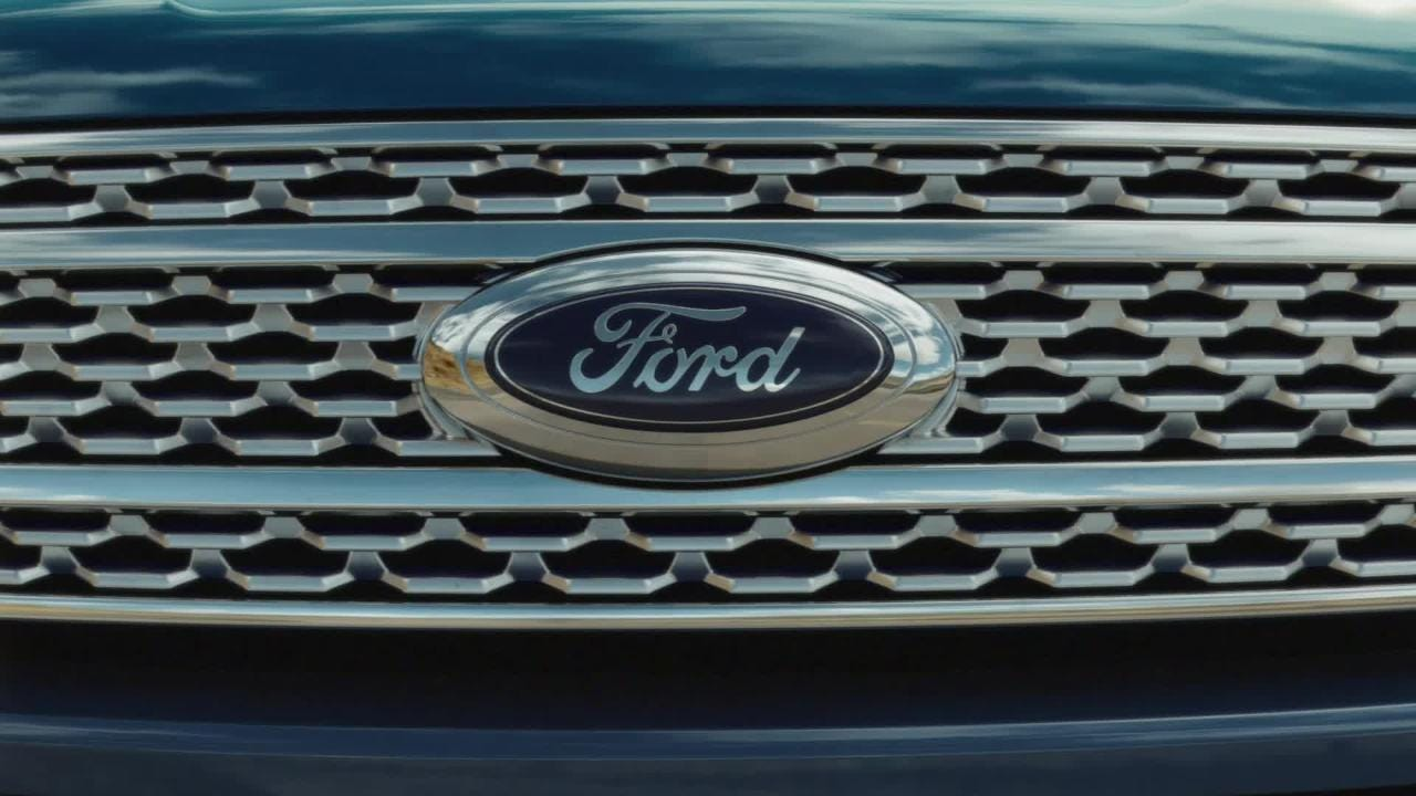 """The """"Built Ford Proud"""" theme is """"one umbrella that brings together"""" all the products, according to Ford."""