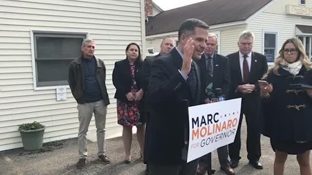 """I'm not going to be a political prostitute ... I will not allow the governor of the great state of New York to dictate what and how we are supposed to come before him,"" Marc Molinaro said."