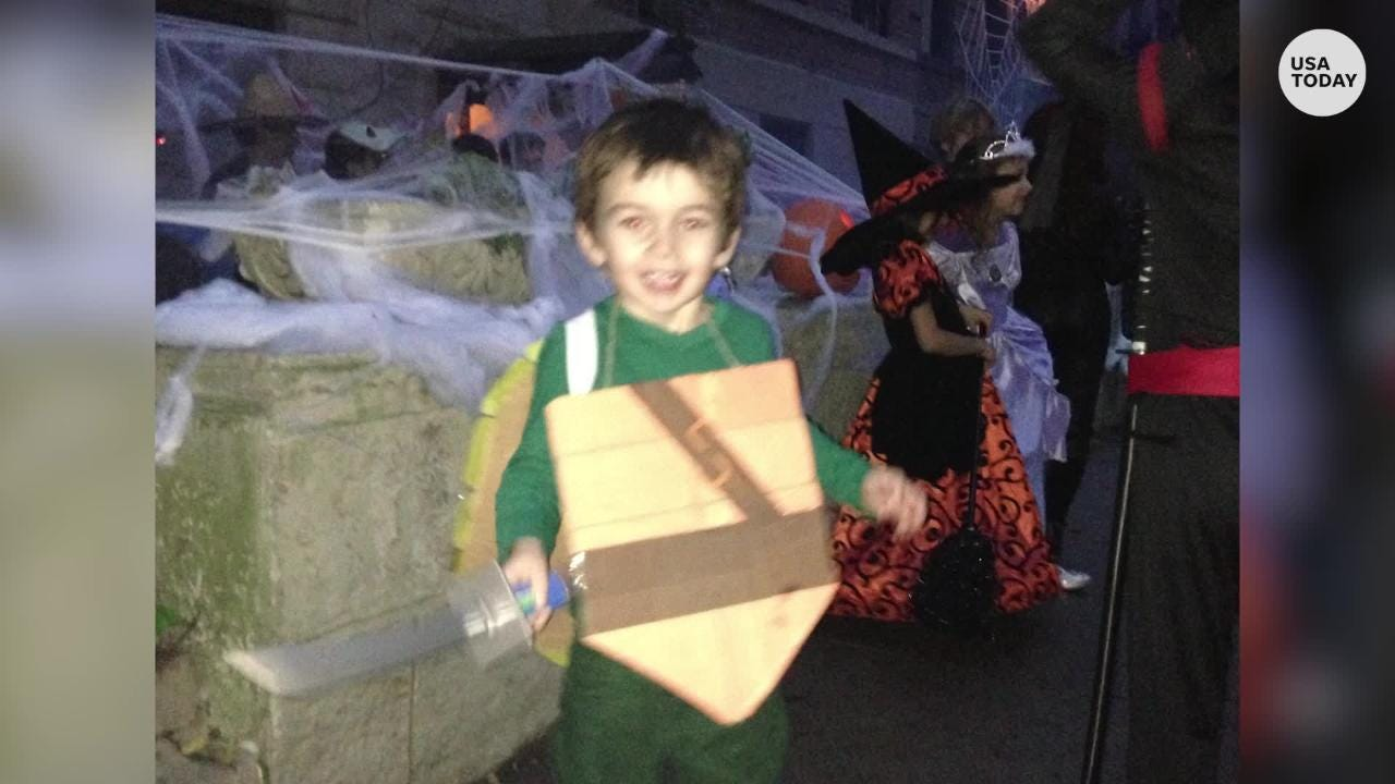 USA Today reporter Janna Herron describes her journey through Halloween costume making adventures, and how she learned to just buy costumes.