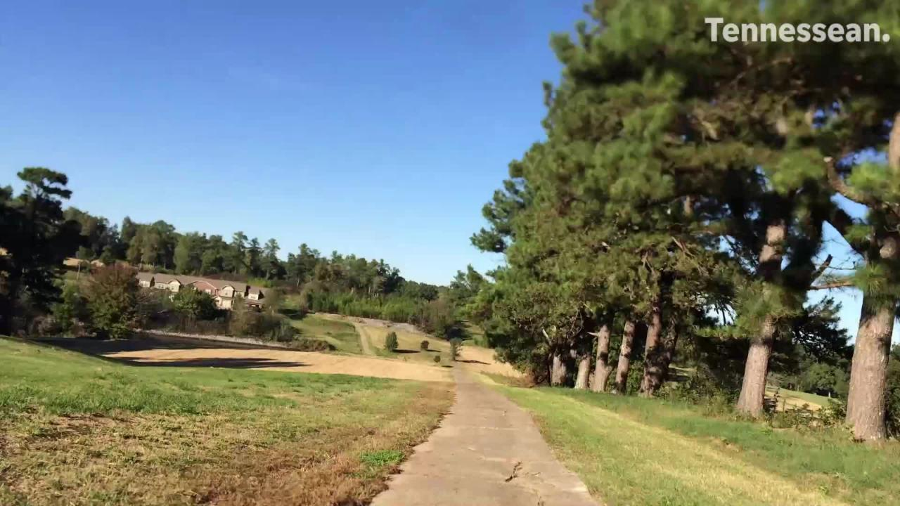 The City of Dickson's Henslee Park opened this week. The park was previously the Dickson Country Club for several decades.