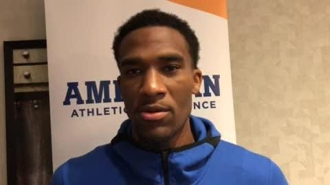 Memphis senior Jeremiah Martin talked about why he deserves success and his leadership at AAC media day in Philadelphia.