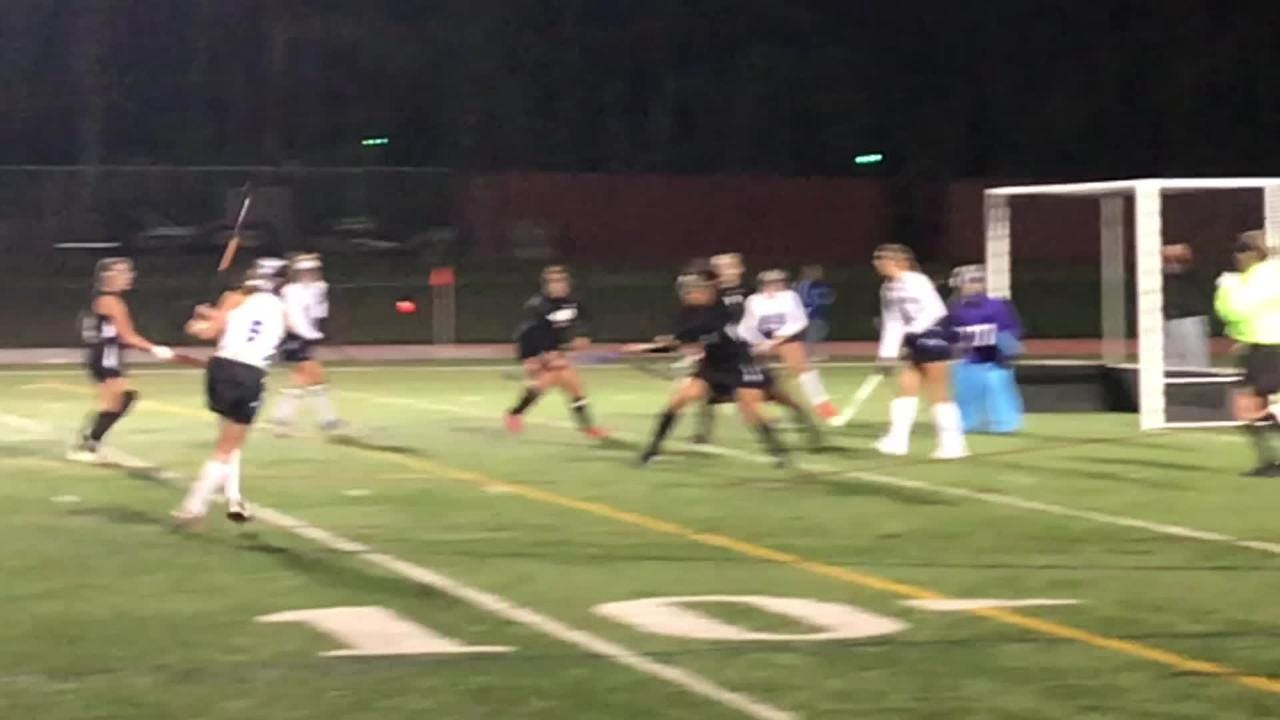 The Metuchen field hockey team won its second-straight GMC Tournament title with a 2-1 win over Old Bridge on Thursday, Oct. 18, 2018.