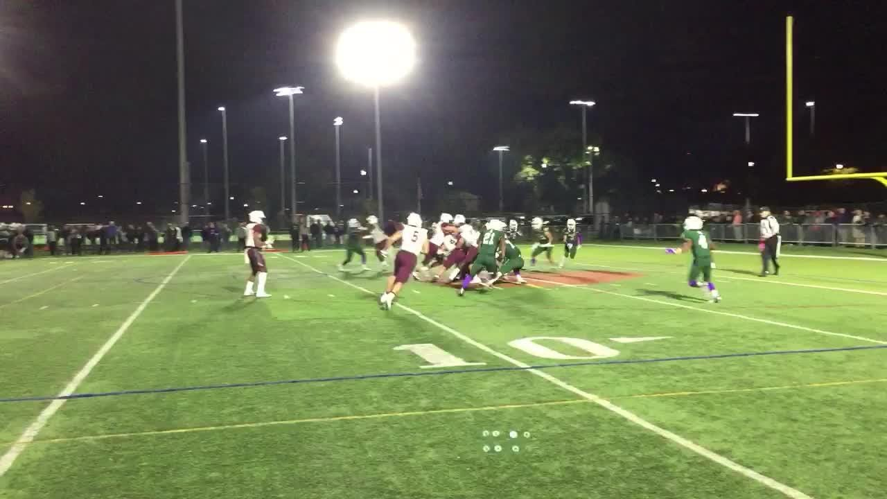 Kyle Monangai scored a touchdown in the third quarter to put Don Bosco ahead 24-21.