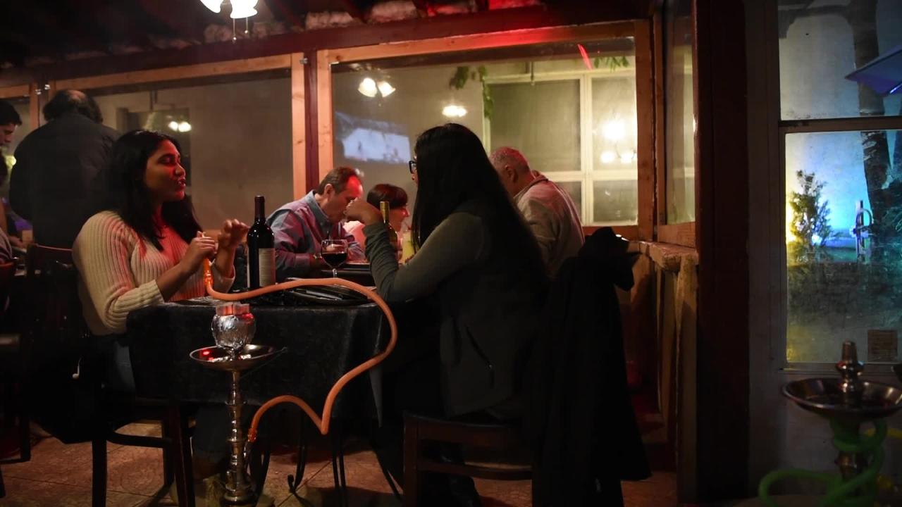 Kamil's in Clifton has hookahs and several varieties of flavored tobacco to smoke before, during or after a meal.