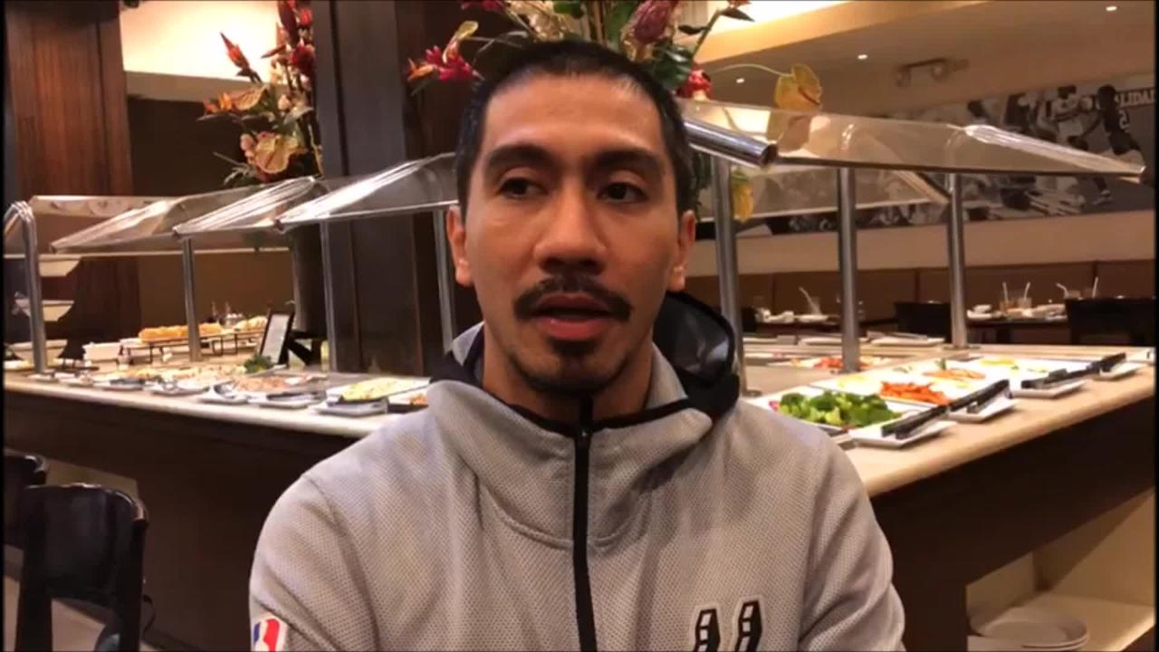 PBA commissioner Willie Marcial promises to play in January.