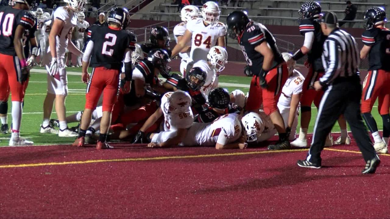 Ankeny closes out the regular season on a high note with a dominant victory over Sioux City East.