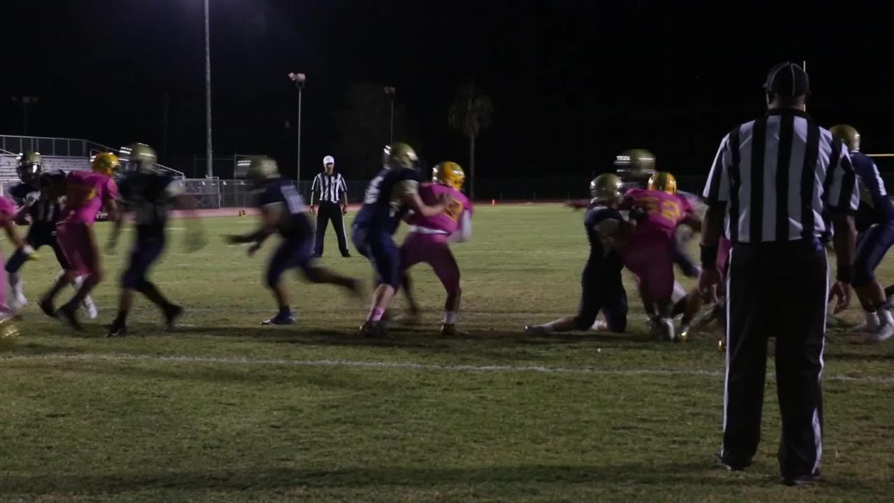 Coachella Valley vs. Desert Hot Springs football