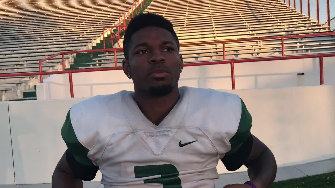 WATCH: FAMU WR Azende Rey on the trauma of Hurricane Michael