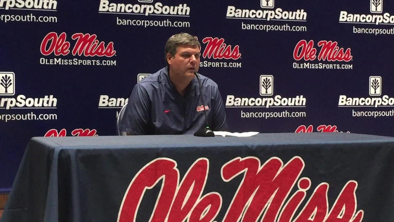 After his team's 31-16 loss versus Auburn, Ole Miss head coach Matt Luke talked about what he saw from the game and where he wants to improve.