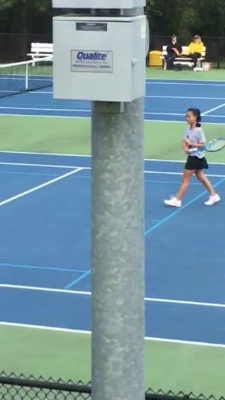 Andrea Cerdan of Paramus Catholic won another state tennis title on Saturday, Oct. 20.