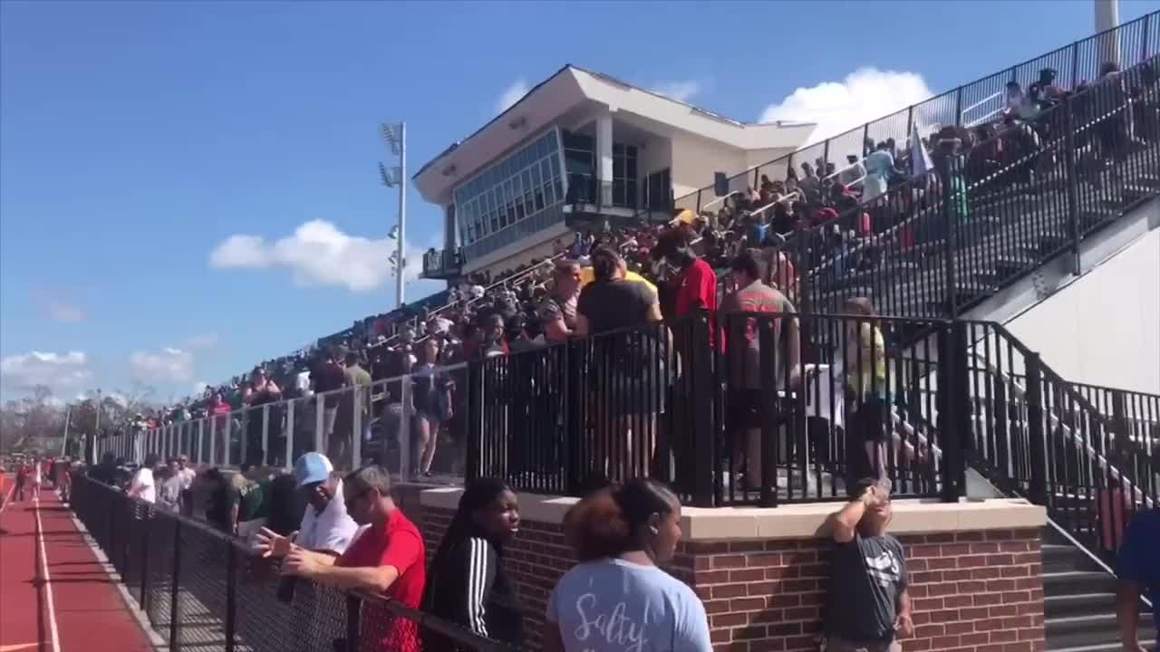 WATCH: More than 3,500 fans gather for free food, football in Panama City