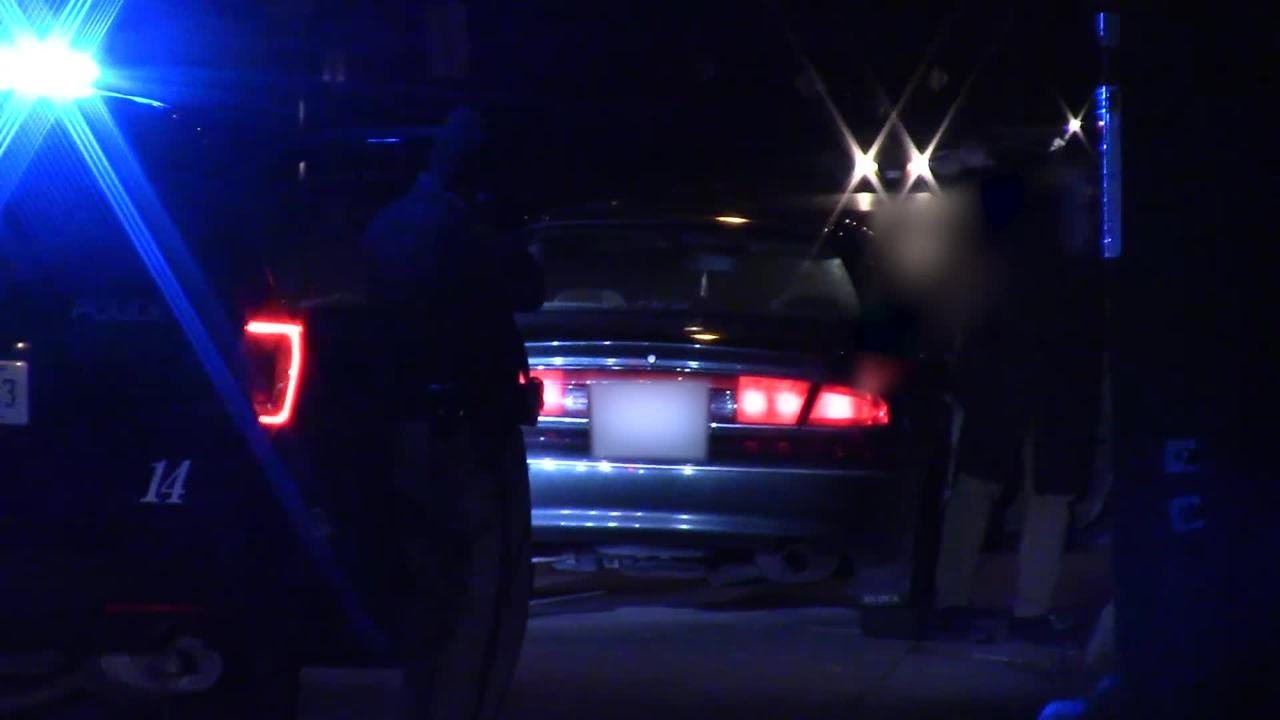 The Fond du Lac Police Department conducted this felony traffic stop as part of an ongoing investigation in another part of the city October 20, 2018.