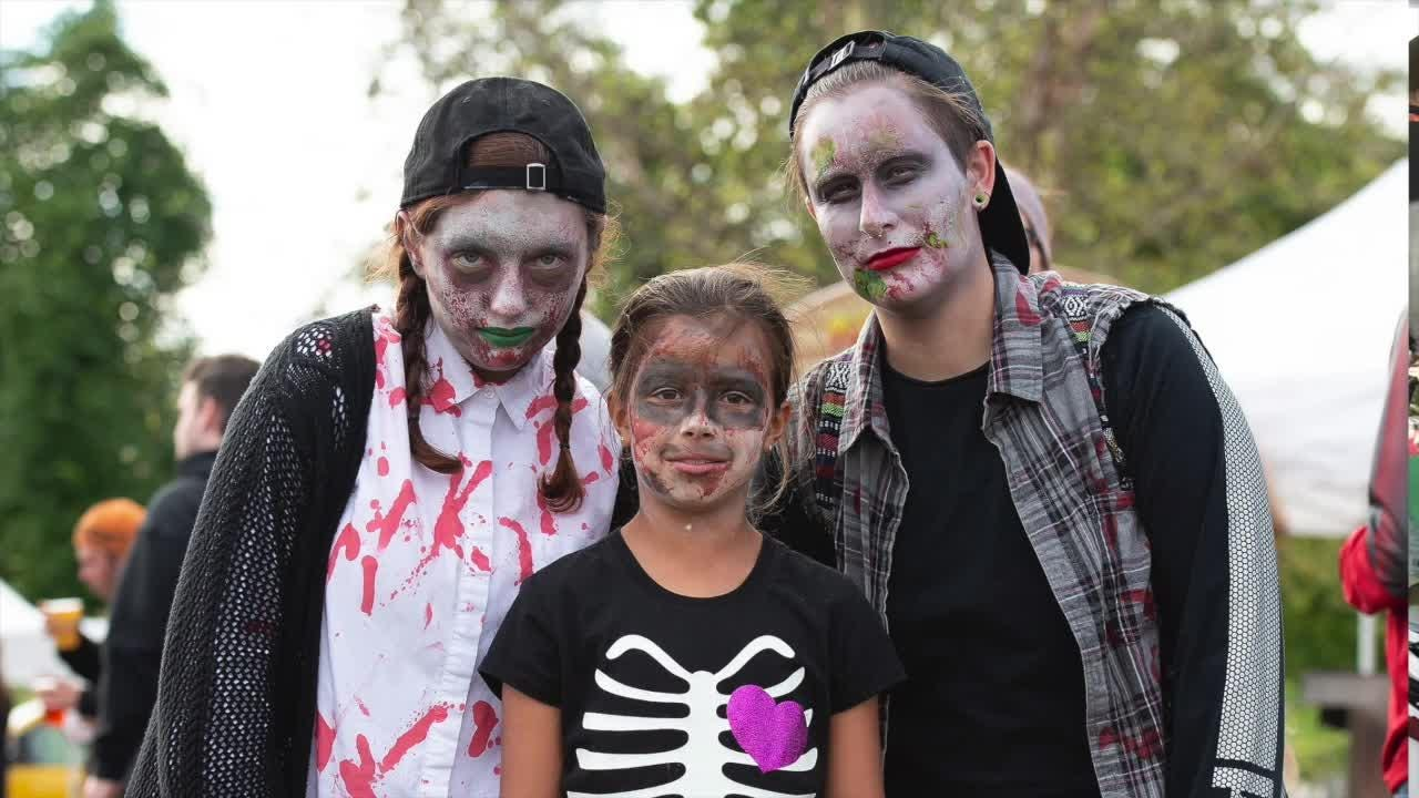 Makeup tips to look like a zombie