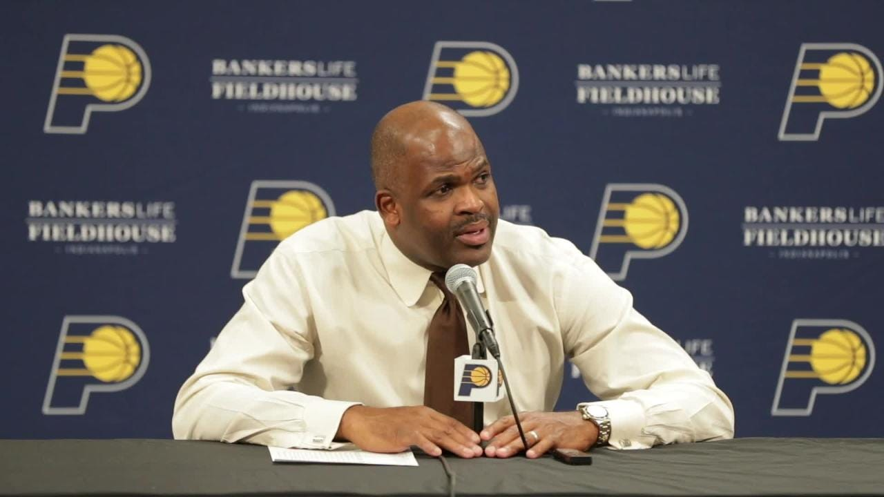 Coach McMillan discusses the Pacers 132-112 win over the Brooklyn Nets on Saturday eve, Oct. 20, 2018.