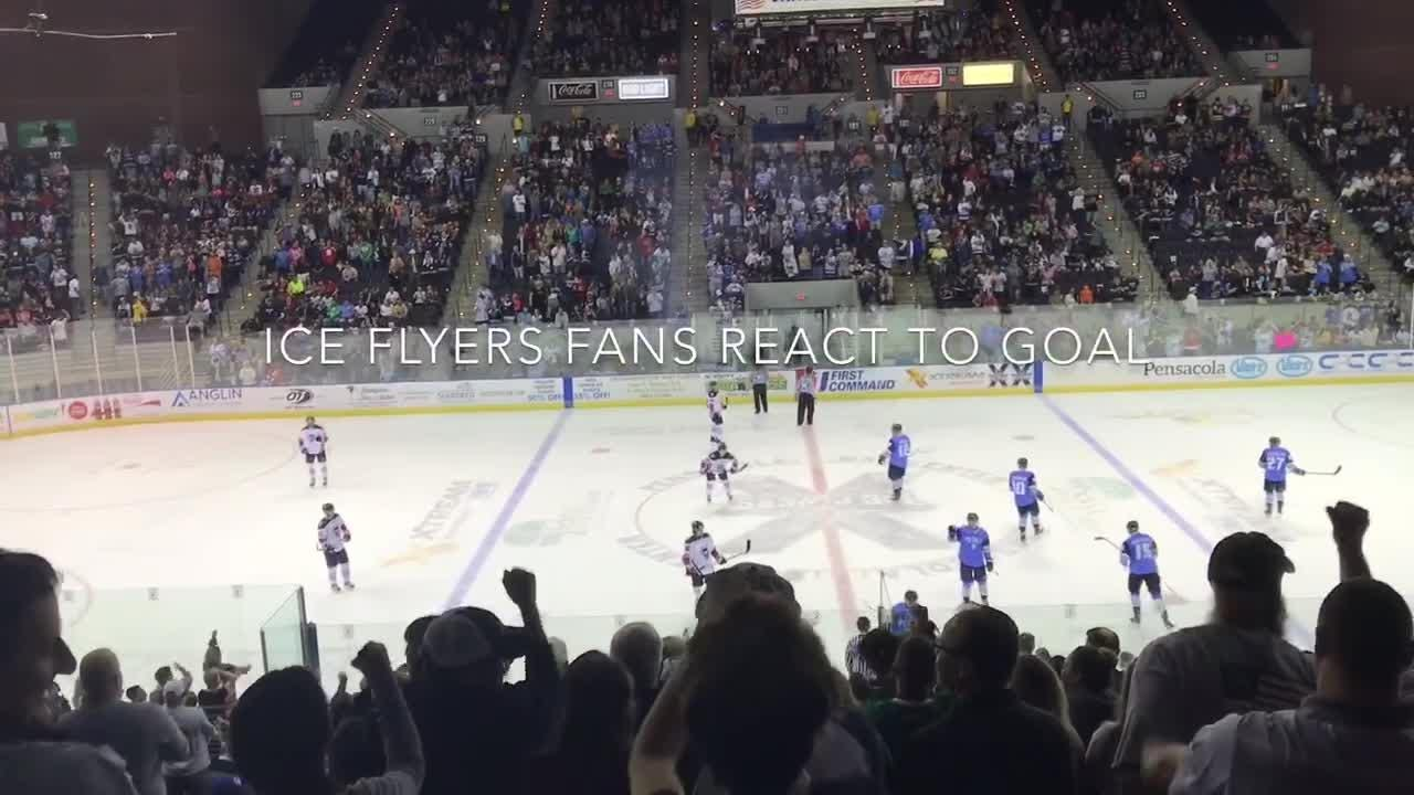 Pensacola Ice Flyers get 7,250 fans on home opener that only lacked a win